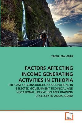 Factors Affecting Income Generating Activities in Ethiopia