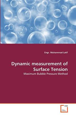Dynamic Measurement of Surface Tension