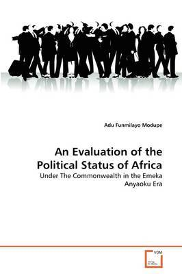 An Evaluation of the Political Status of Africa