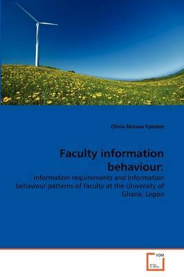 Faculty Information Behaviour