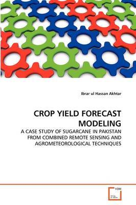 Crop Yield Forecast Modeling
