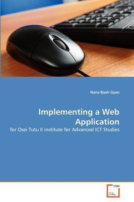 Implementing a Web Application