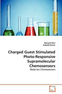 Charged Guest Stimulated Photo-Responsive Supramolecular Chemosensors
