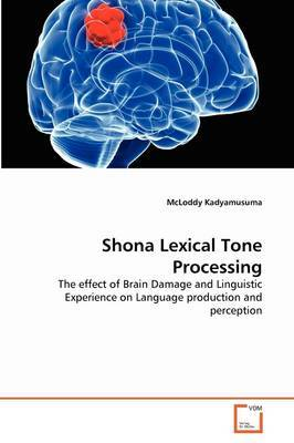 Shona Lexical Tone Processing