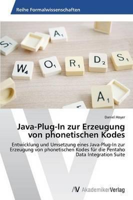 Java-Plug-In Zur Erzeugung Von Phonetischen Kodes