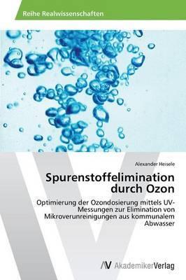 Spurenstoffelimination Durch Ozon