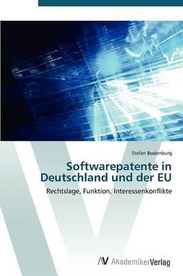 Softwarepatente in Deutschland Und Der Eu