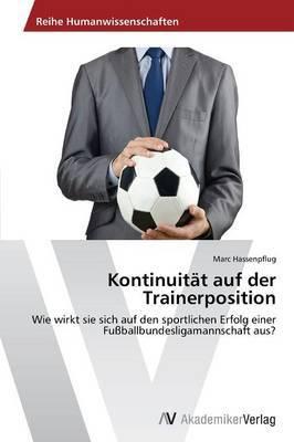 Kontinuitat Auf Der Trainerposition