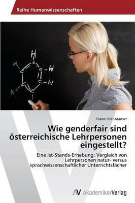 Wie Genderfair Sind Osterreichische Lehrpersonen Eingestellt?