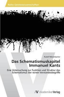 Das Schematismuskapitel Immanuel Kants