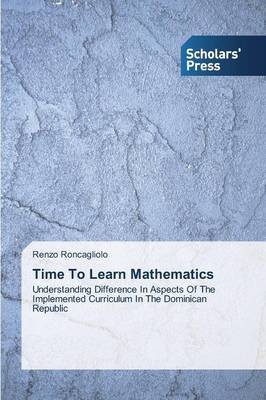 Time to Learn Mathematics