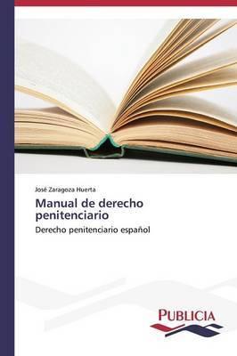Manual de Derecho Penitenciario