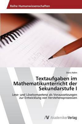 Textaufgaben Im Mathematikunterricht Der Sekundarstufe I