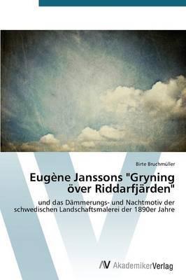 Eugene Janssons  Gryning Over Riddarfjarden