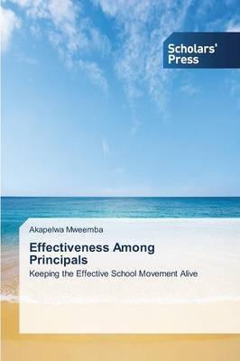 Effectiveness Among Principals