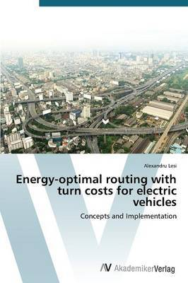 Energy-Optimal Routing with Turn Costs for Electric Vehicles