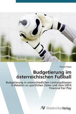 Budgetierung Im Osterreichischen Fussball