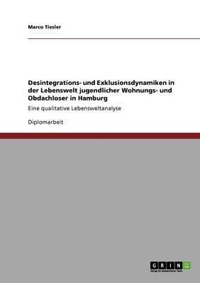 Desintegrations- Und Exklusionsdynamiken in Der Lebenswelt Jugendlicher Wohnungs- Und Obdachloser in Hamburg