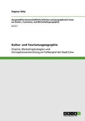 Kultur- Und Tourismusgeographie