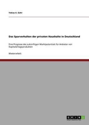 Das Sparverhalten Der Privaten Haushalte in Deutschland