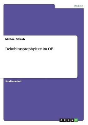 Dekubitusprophylaxe Im Op