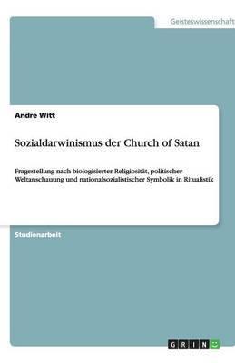 Sozialdarwinismus Der Church of Satan