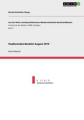Studierenden-Booklet August 2010