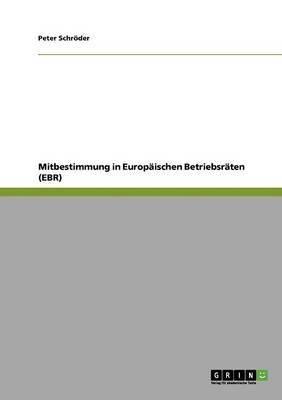 Mitbestimmung in Europaischen Betriebsraten (Ebr)