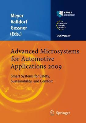 Advanced Microsystems for Automotive Applications: Smart Systems for Safety, Sustainability, and Comfort: 2009