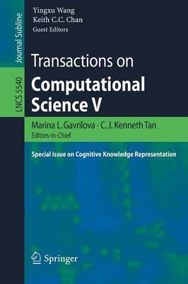 Transactions on Computer Science: Special Issue on Cognitive Knowledge Representation: No. 5