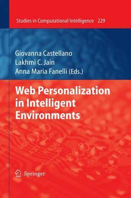 Web Personalization in Intelligent Environments