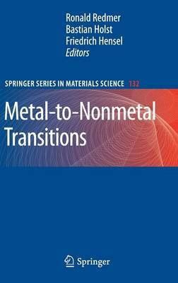 Metal-to-Nonmetal Transitions: 2010