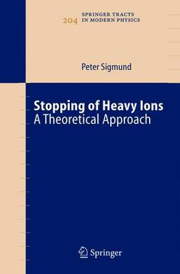 Stopping of Heavy Ions: a Theoretical Approach
