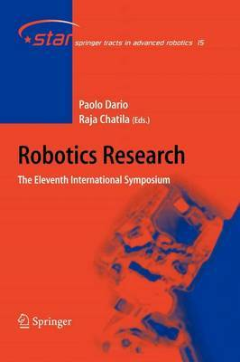 Robotics Research: The Eleventh International Symposium