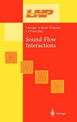 Sound-Flow Interactions