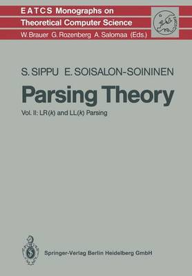 Parsing Theory: LR(k) and LL(k) Parsing: Volume II