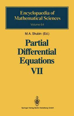 Partial Differential Equations VII: Spectral Theory of Differential Operators