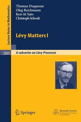 Levy Matters: Recent Progress in Theory and Applications: Foundations, Trees and Numerical Issues in Finance: Bk. 1