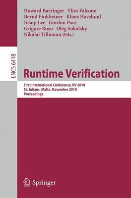 Runtime Verification: First International Conference, RV 2010, St. Julians, Malta, November 1-4, 2010. Proceedings