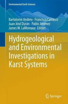 Hydrogeological and Environmental Investigations in Karst Systems: 2013