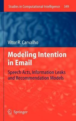 Modeling Intention in Email