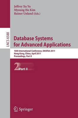 Database Systems for Advanced Applications: Proceedings: Part II