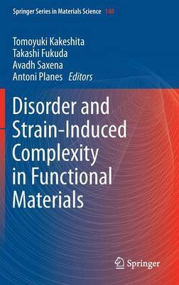 Disorder and Strain-Induced Complexity in Functional Materials: 2012