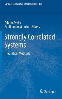Strongly Correlated Systems: Theoretical Methods