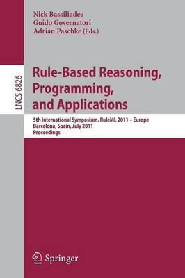 Rule-Based Reasoning, Programming, and Applications