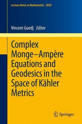 Complex Monge-ampere Equations and Geodesics in the Space of Kahler Metrics