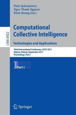 Computational Collective Intelligence Technologies and Applications: Proceedings: Part I