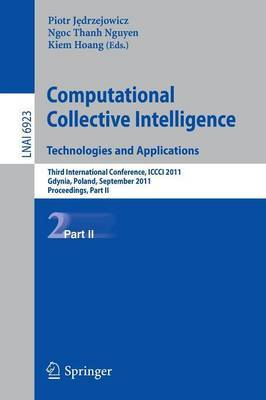 Computational Collective IntelligenceTechnologies and Applications: Proceedings: Part I