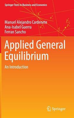 Applied General Equilibrium: 2012