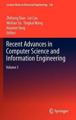 Recent Advances in Computer Science and Information Engineering: v. 3